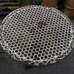Pair cast iron tables