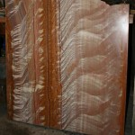 Coloured marble sheet