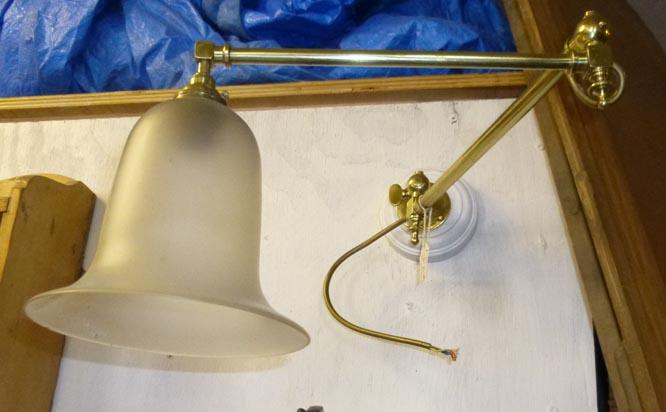 Ajustable wall light