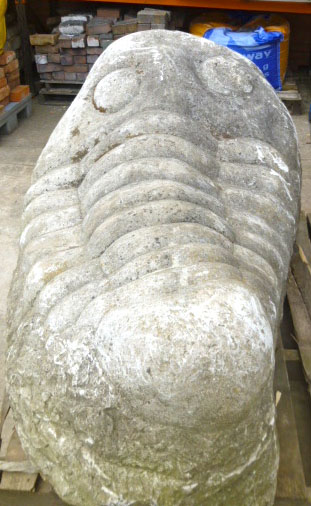 Large stone carving