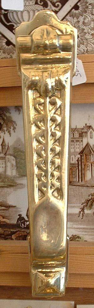 Long Vic brass knocker