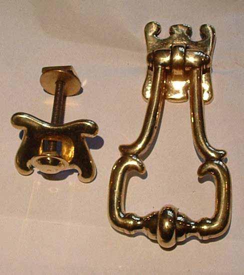 Georgian brass knocker