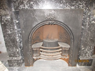 Victorian Arched Hob Register Grate