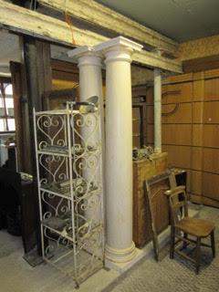 Reclaimed Plaster Columns