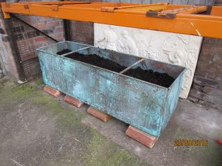 Large reproduction copper planter