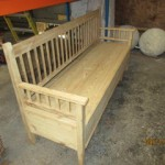 Pine bench/blanket box
