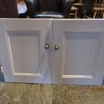 Painted Victorian Cupbord Doors