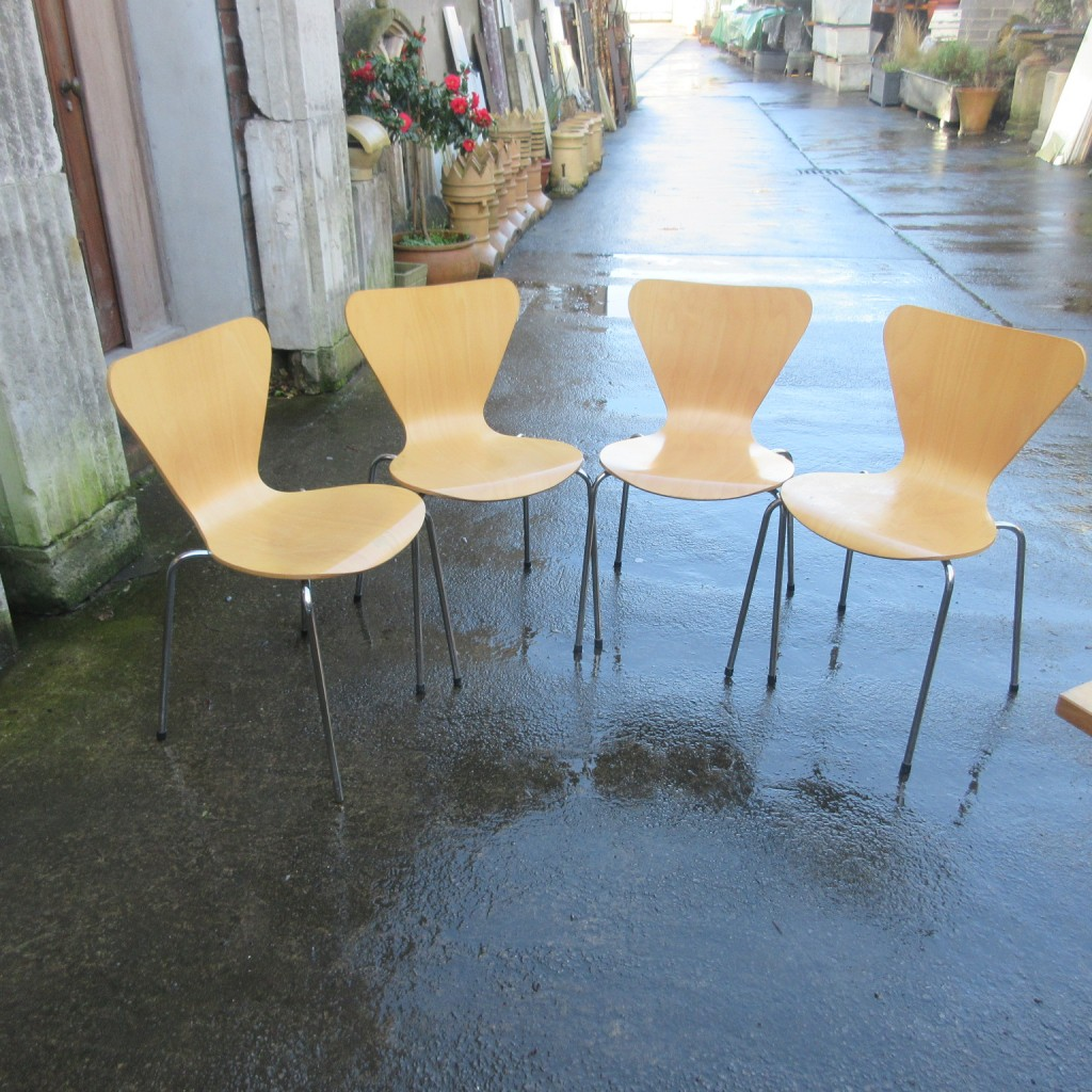 set of 12 stacking chairs