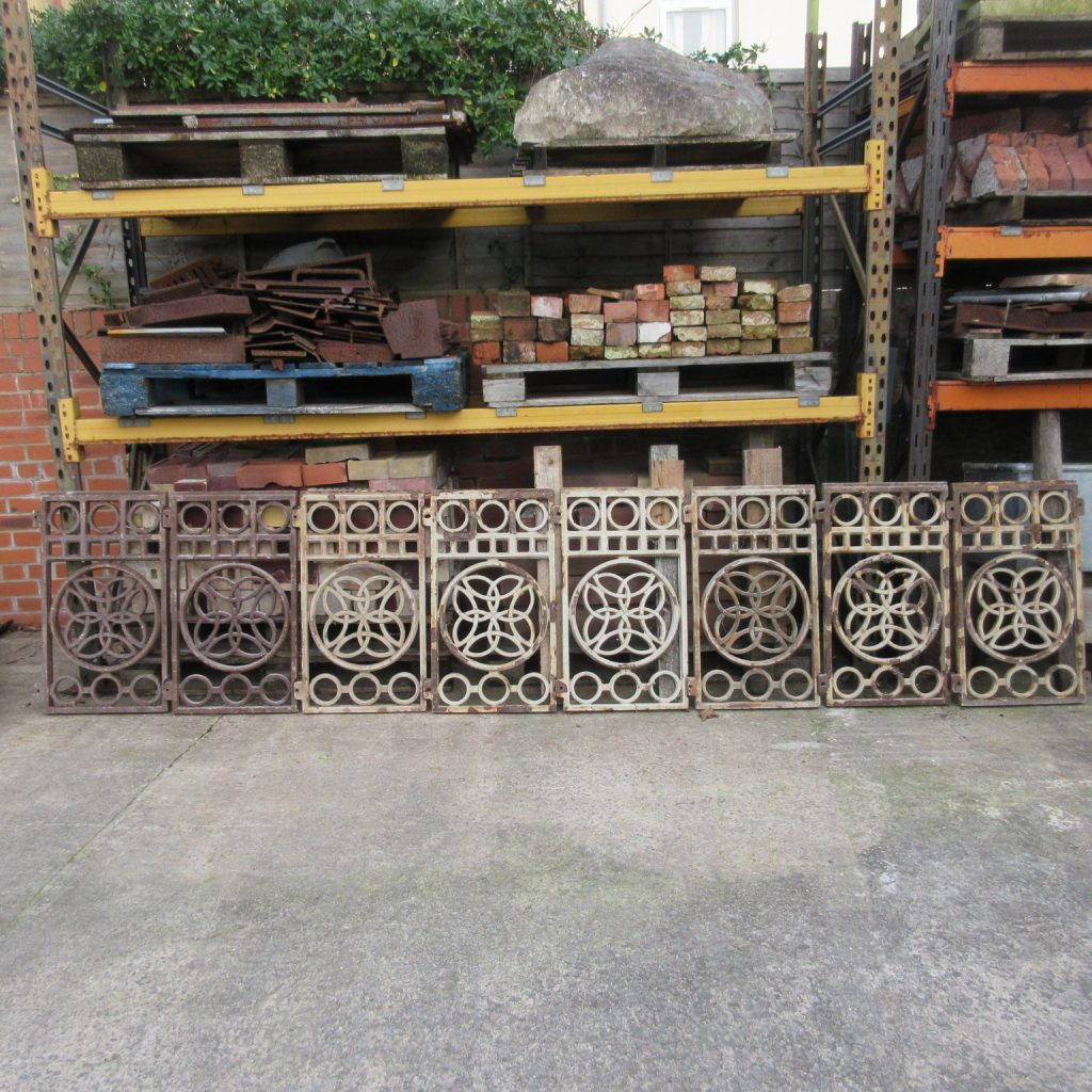 Set of 8 balcony sections