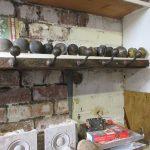 Wrought iron coat hooks